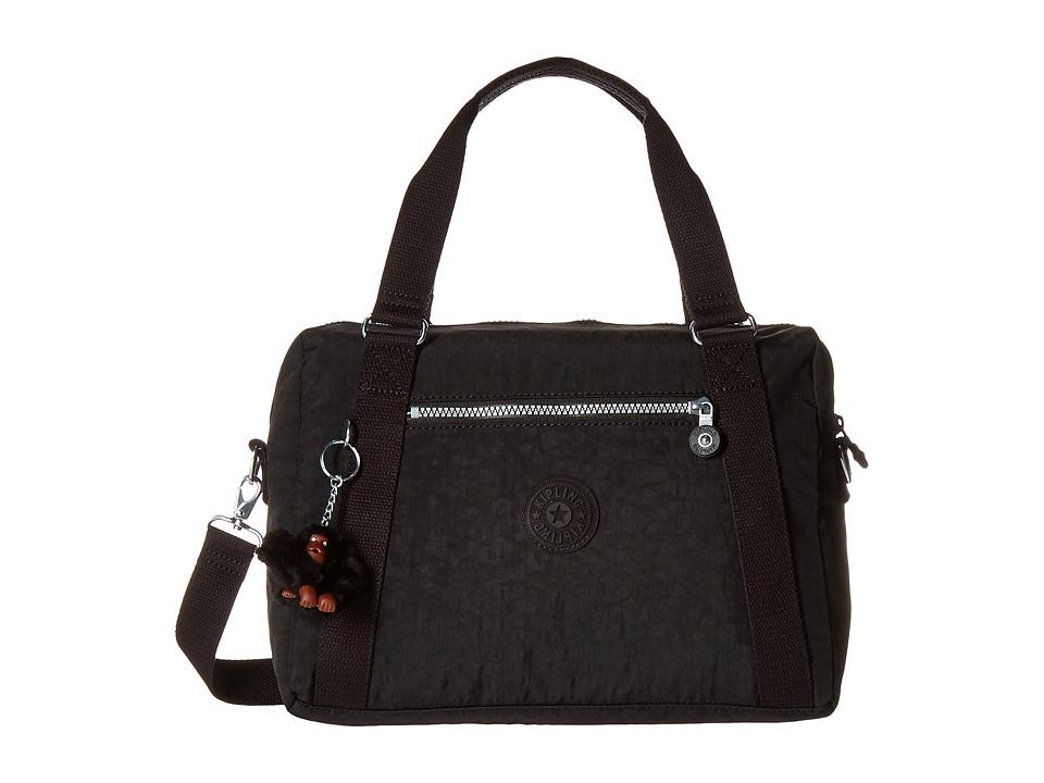 Kipling Melissa Satchel Black Satchel Handbags
