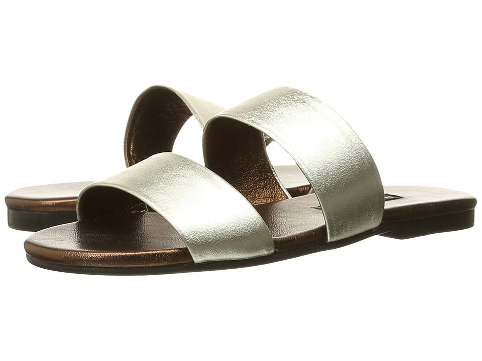 NewbarK Roma IV Silver Metallic/Bronze Metallic Womens Sandals