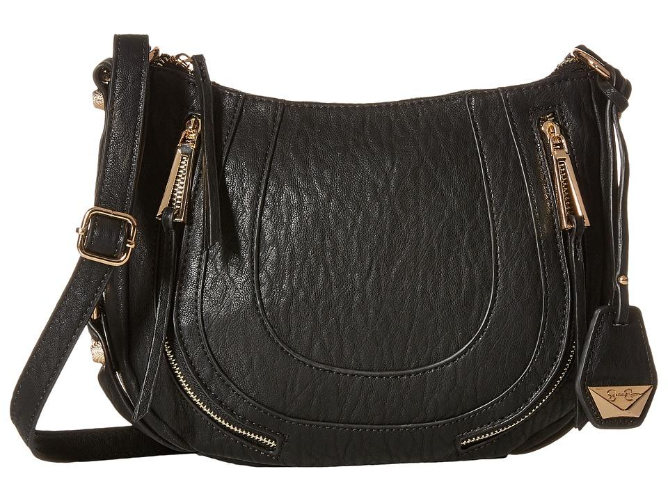 Jessica Simpson - Kendall Crossbody (Black) Cross Body Handbags