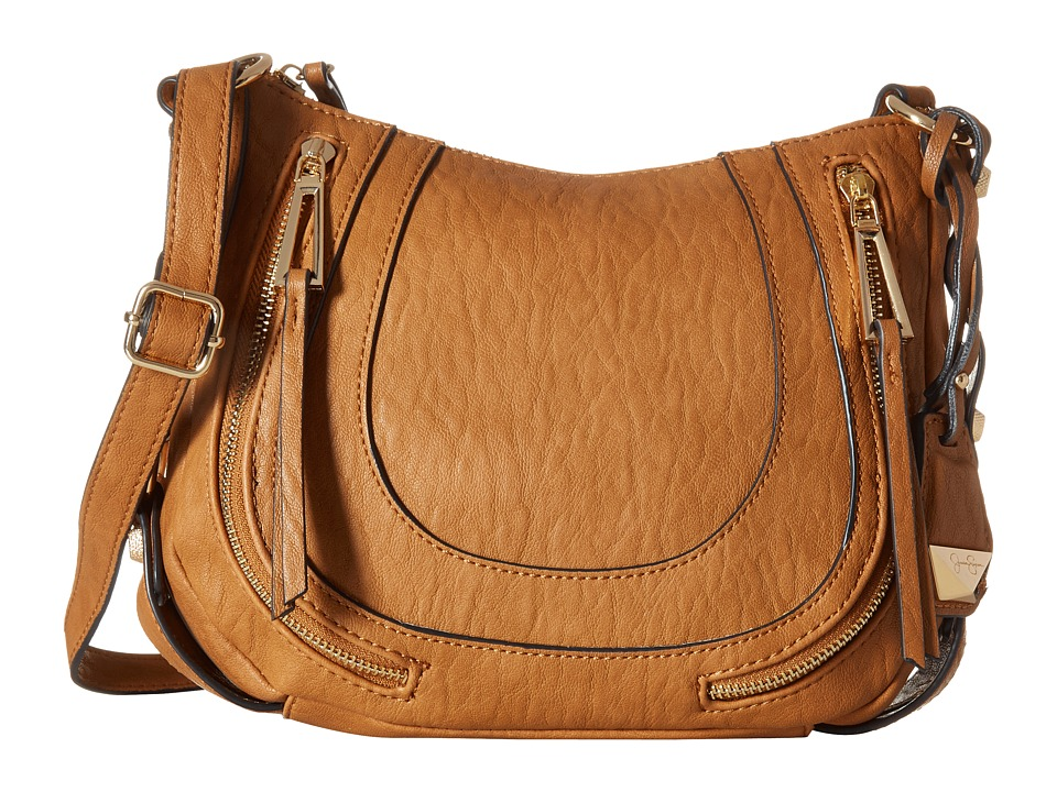 Jessica Simpson - Kendall Crossbody (Cognac) Cross Body Handbags