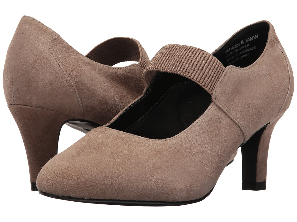 David Tate - Dixie (Taupe Suede) Women's Shoes