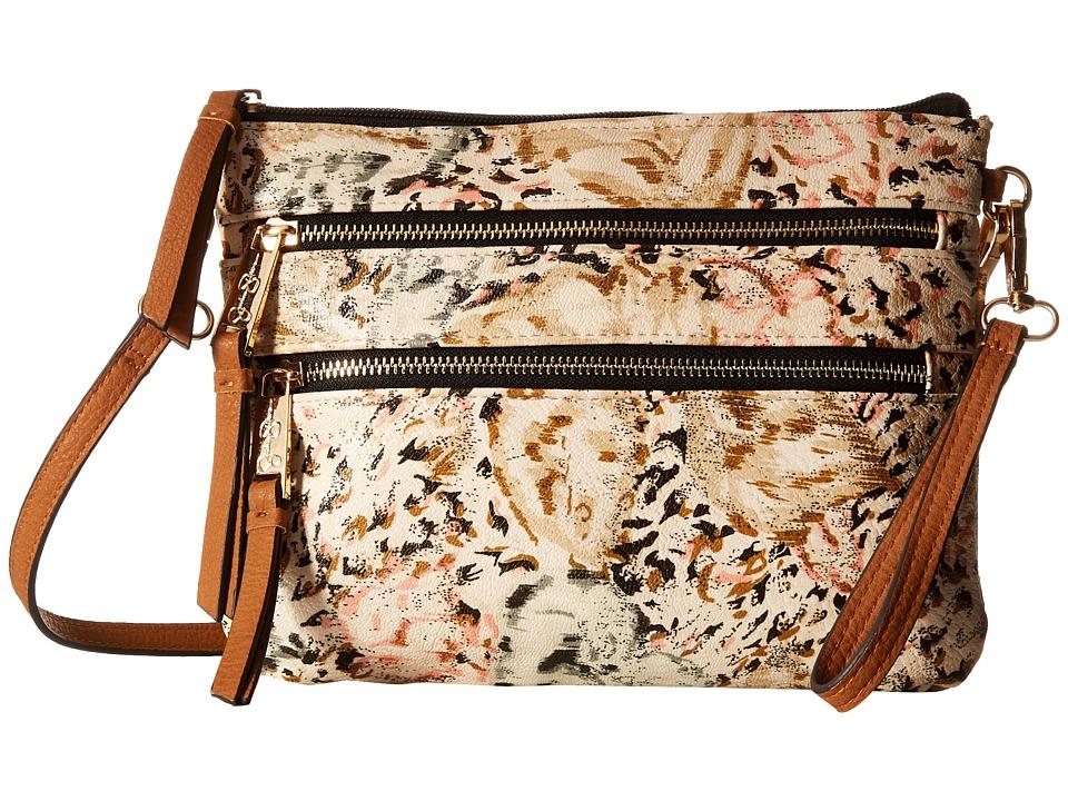 Jessica Simpson - Clara Crossbody (Island Cheetah) Cross Body Handbags