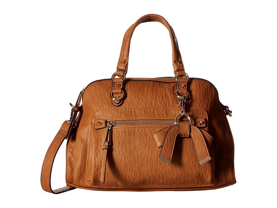 Jessica Simpson - Tatiana Satchel (Cognac) Satchel Handbags
