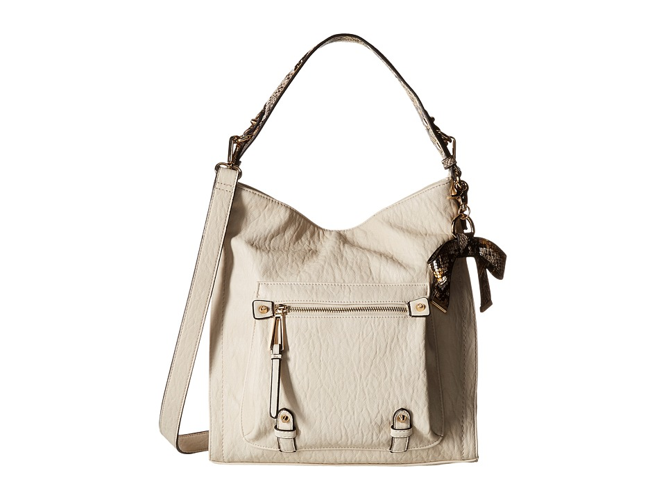 Jessica Simpson - Tatiana Hobo (Putty/Brown Mustard Python) Hobo Handbags