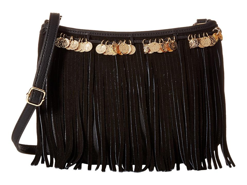 Jessica Simpson - Zinnia Crossbody (Black) Cross Body Handbags