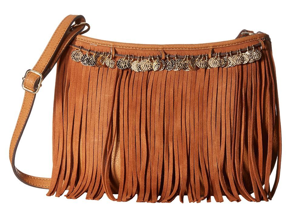 Jessica Simpson - Zinnia Crossbody (Cognac) Cross Body Handbags