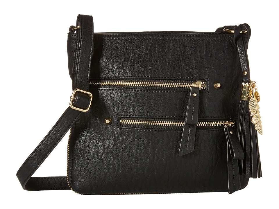 Jessica Simpson - Skylar Crossbody (Black) Cross Body Handbags