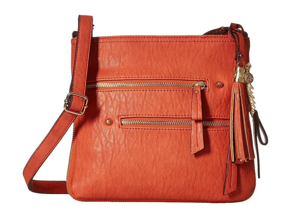 Jessica Simpson - Skylar Crossbody (Burnt Orange) Cross Body Handbags
