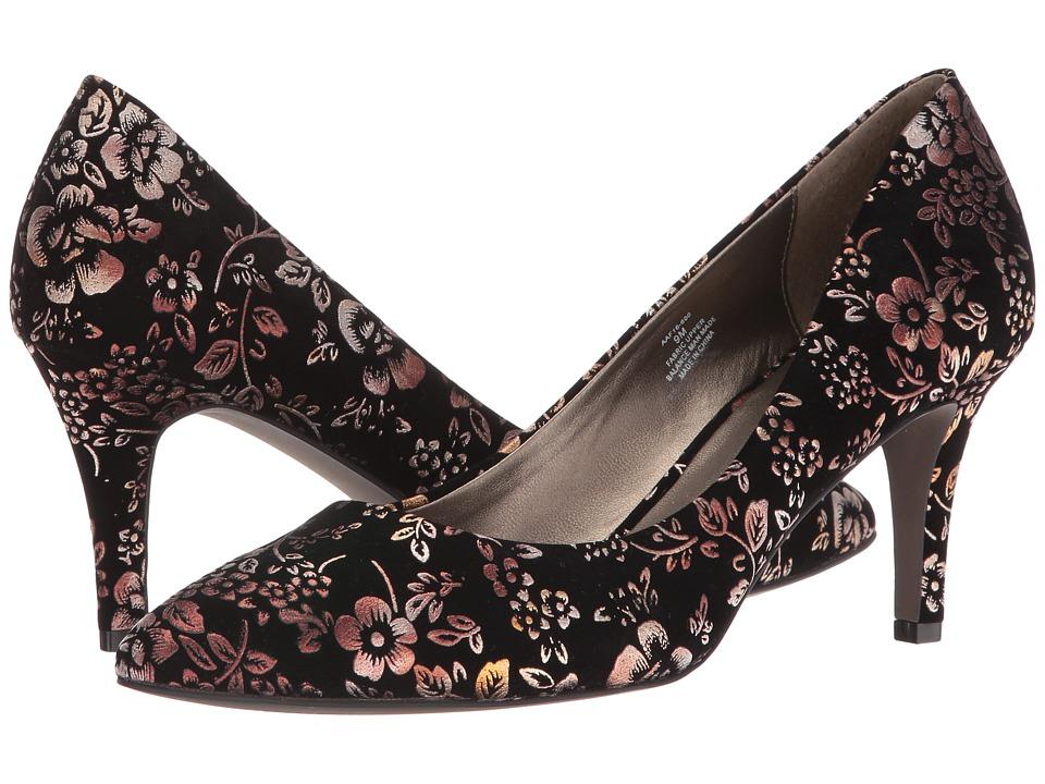 David Tate - Opera II (Metallic Floral) Women's Shoes