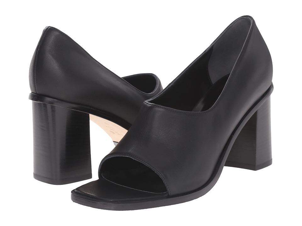 ASKA Marley Black Calf High Heels
