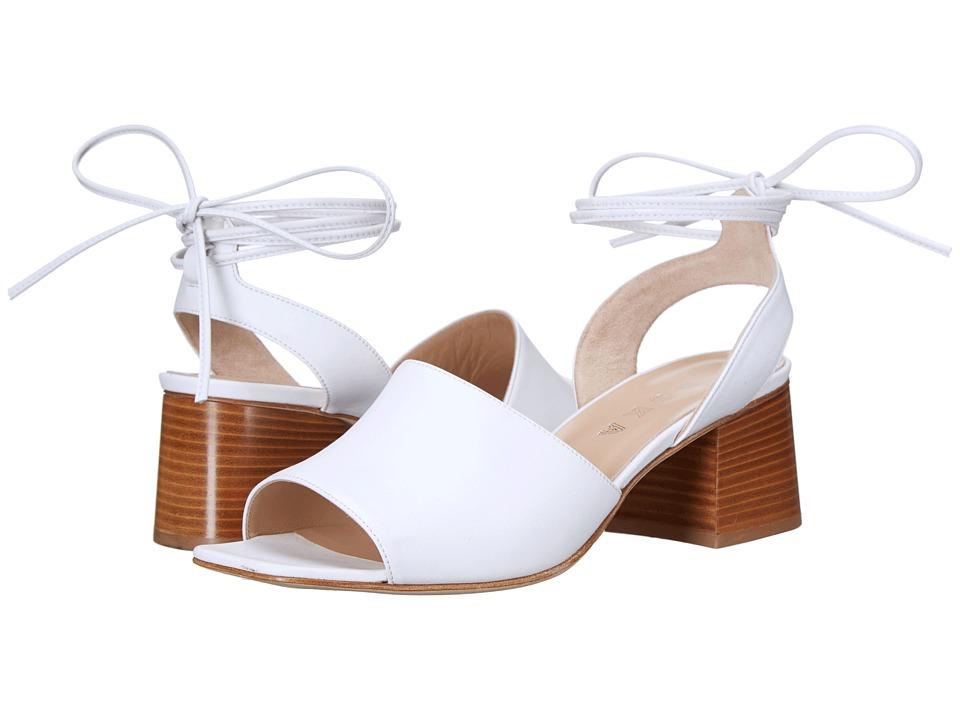 ASKA Rumor White Smooth Calf High Heels