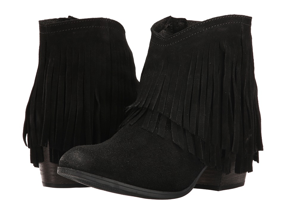 Taos Footwear Shag (Black Suede) Women
