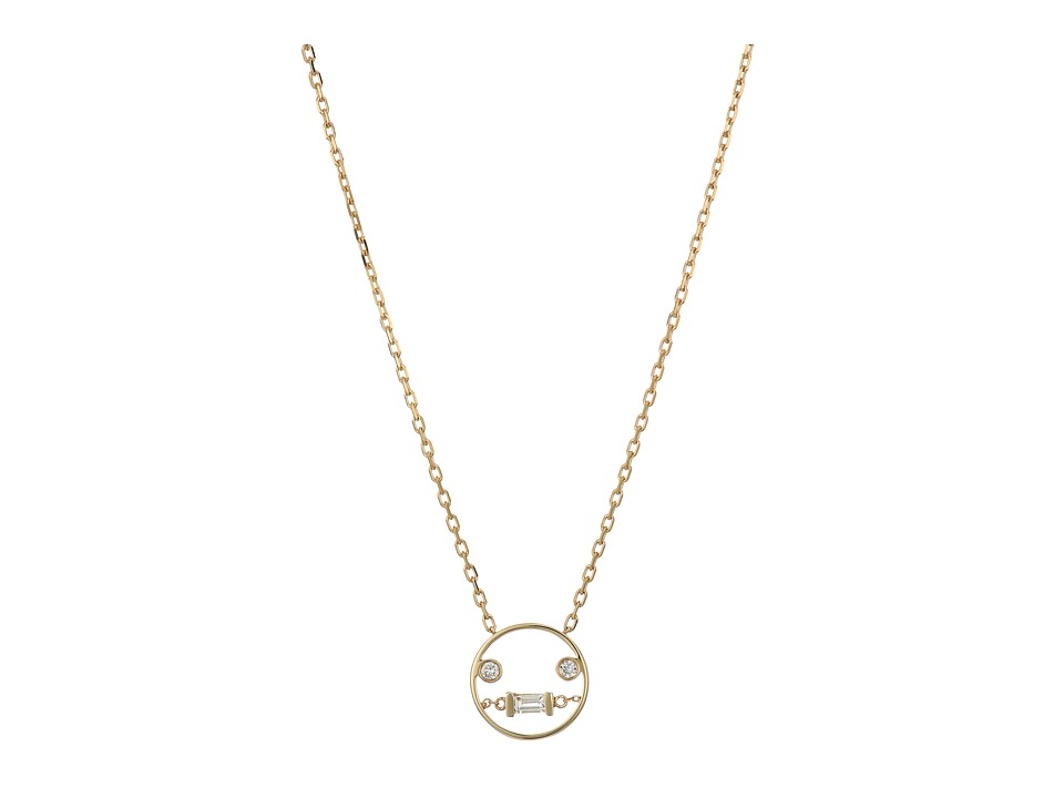 RUIFIER Lei Pendant 9ct Yellow Gold Necklace