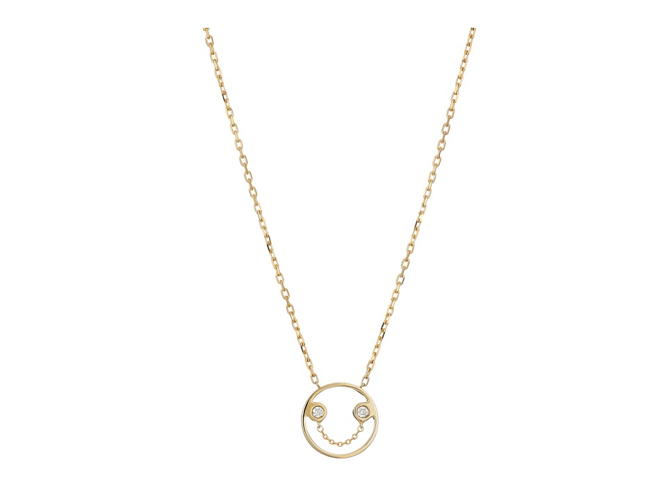 RUIFIER Belle Pendant 9ct Yellow Gold Necklace