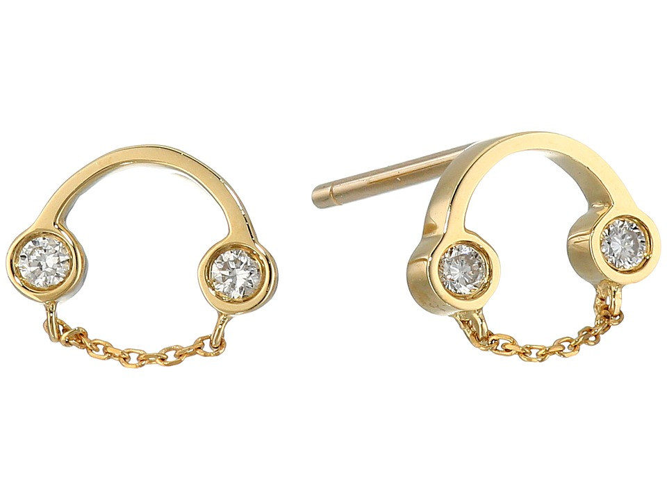 RUIFIER Belle Studs 9ct Yellow Gold Earring
