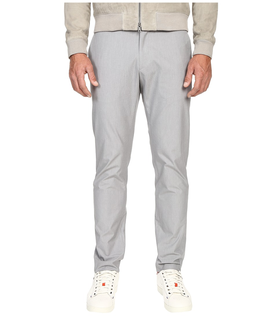 Todd Snyder Tab Front Cotton Pants Light Grey Mens Casual Pants