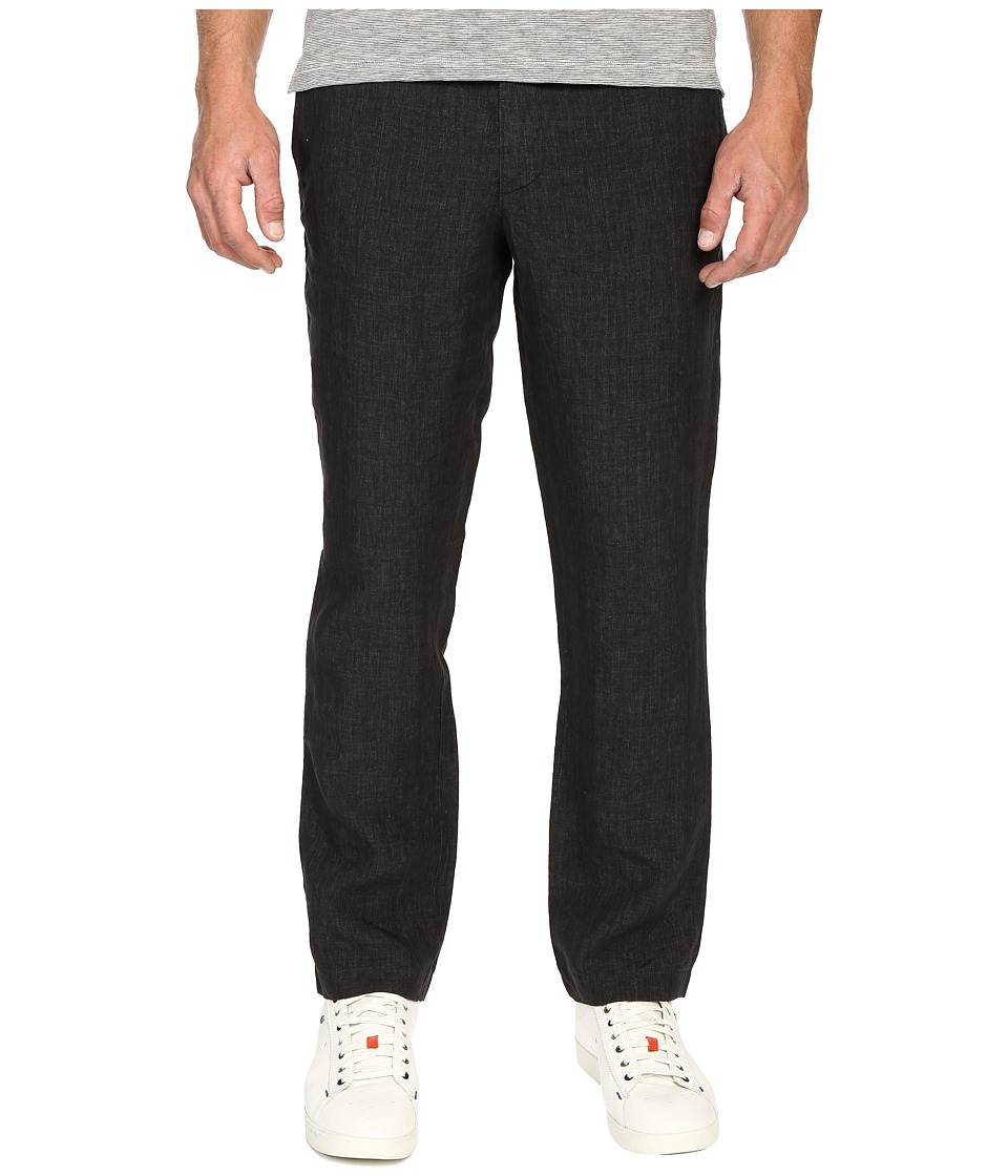 Todd Snyder Brighton Linen Pants Charcoal Mens Casual Pants