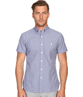 Todd Snyder - Short Sleeve Mini Check Button Up