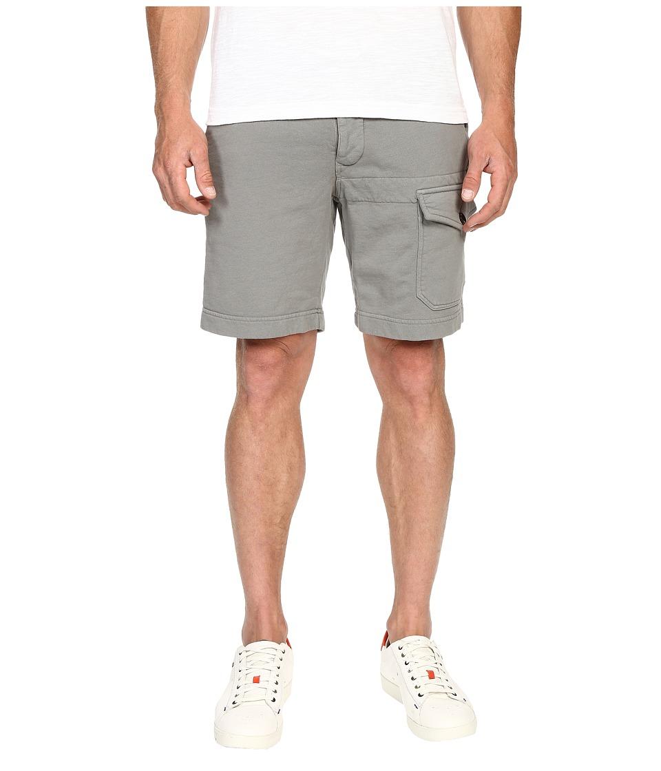 Todd Snyder Cargo Terry Sweatshorts Gunmetal Mens Shorts