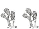 Miseno Sea Leaf Diamond Stud Earrings
