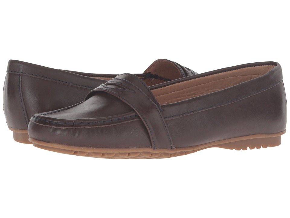 Sebago Meriden Penny (Dark Brown Leather) Women