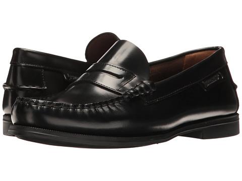 Sebago Plaza II - Black Leather
