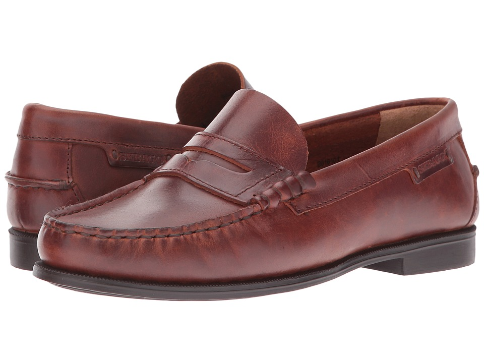 Sebago Plaza II (Brown Oiled Waxy Leather) Women