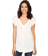 Bobeau - Janet Front Pleat T-Shirt