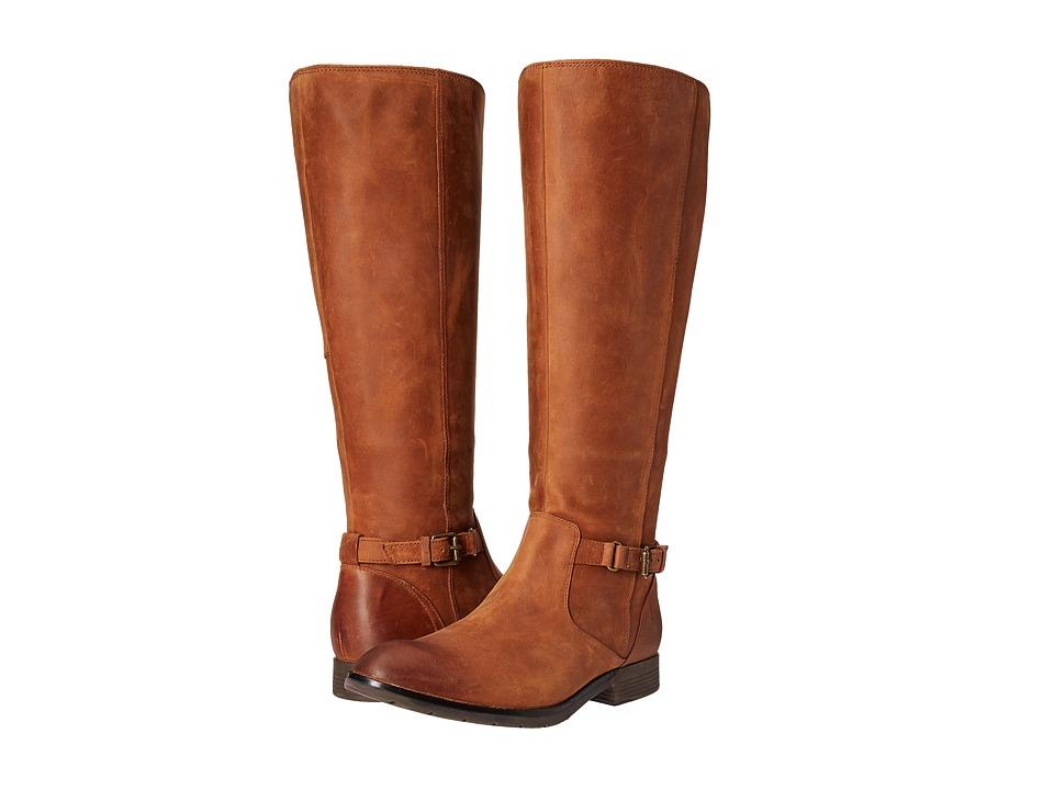 Sebago Nashoba High Boot Waterproof (Brown Leather) Women