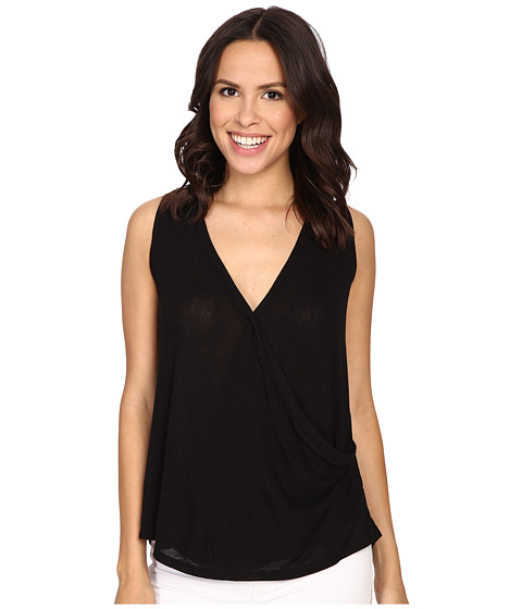 B Collection by Bobeau Karlie Cross Front Knit Tank Top