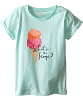 Kate Spade New York Kids - Whats The Scoop Tee (Toddler/Little Kids)