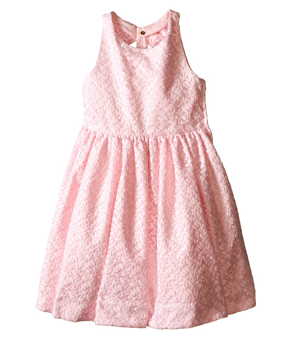 Kate Spade New York Kids Billie Bow Dress Toddler/Little Kids Abstract Speckle Girls Dress