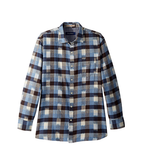 Tommy bahama tropic of flannel shirt at for Athletic cut flannel shirts