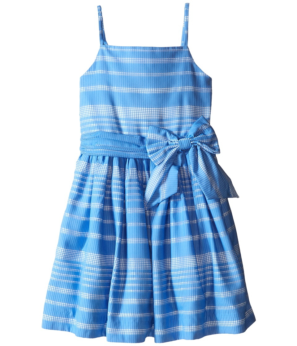 Kate Spade New York Kids Party Dress Big Kids Alice Blue Girls Dress