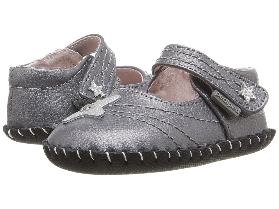pediped Starlite Originals (Infant) (Pewter) Girl's Shoes