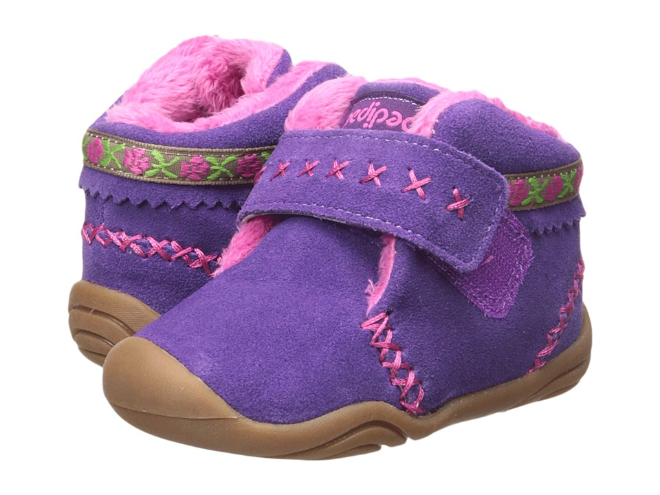 pediped Rosa Grip n Go (Toddler) (Purple) Girl's Shoes
