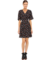 The Kooples - Mix Flowers On Silk Crepe De Chine Dress