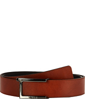 Tumi - T Buckle Leather Reversible Belt