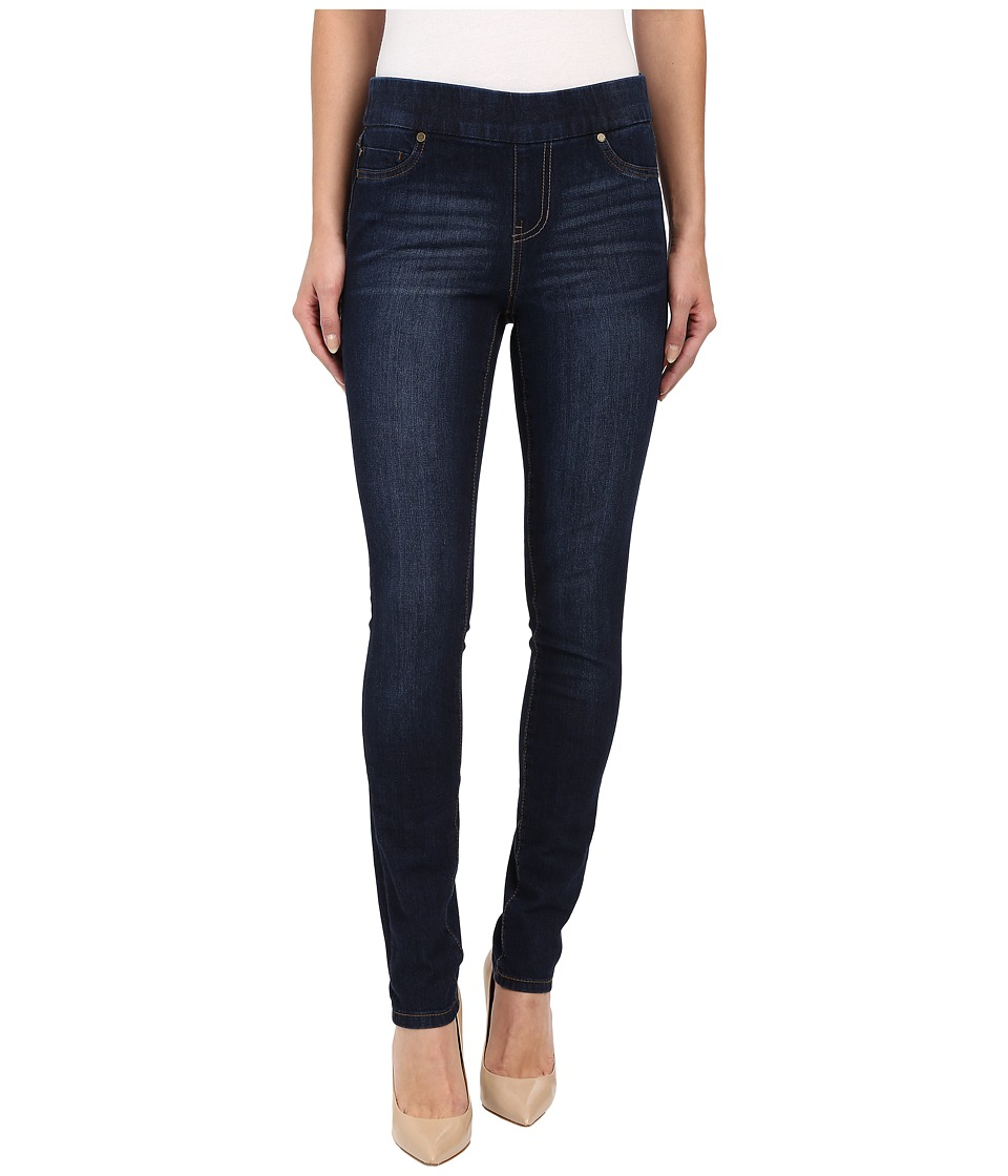 Liverpool - Sienna Pull-On Contour 4-Way Stretch Super Skinny Jean Leggings in Corvus Dark (Corvus Dark) Womens Casual Pants