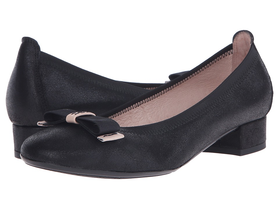 Hispanitas Cassidy Magic Black Womens Flat Shoes