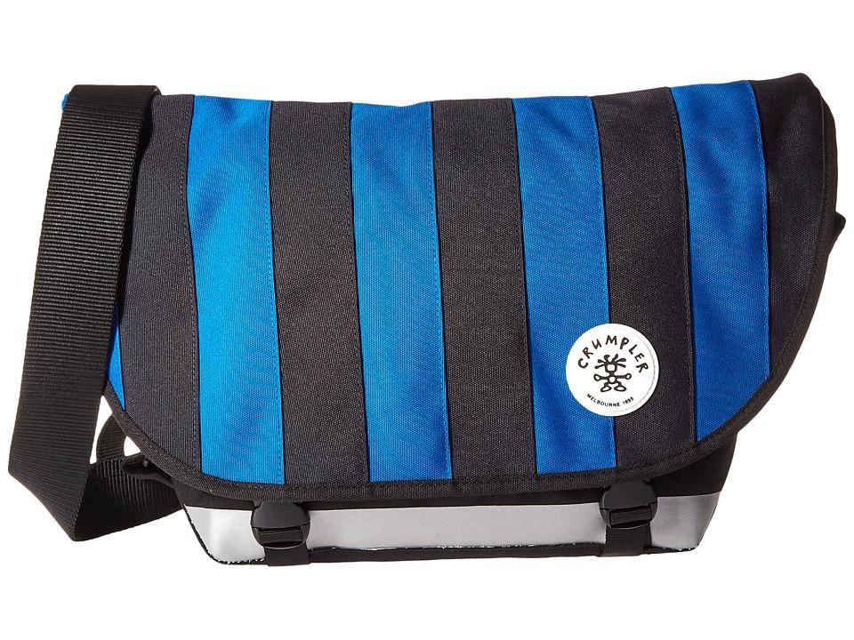 Crumpler - Barney Rustle Blanket Iconic Messenger Bag (Bluestone/Royal Blue) Messenger Bags