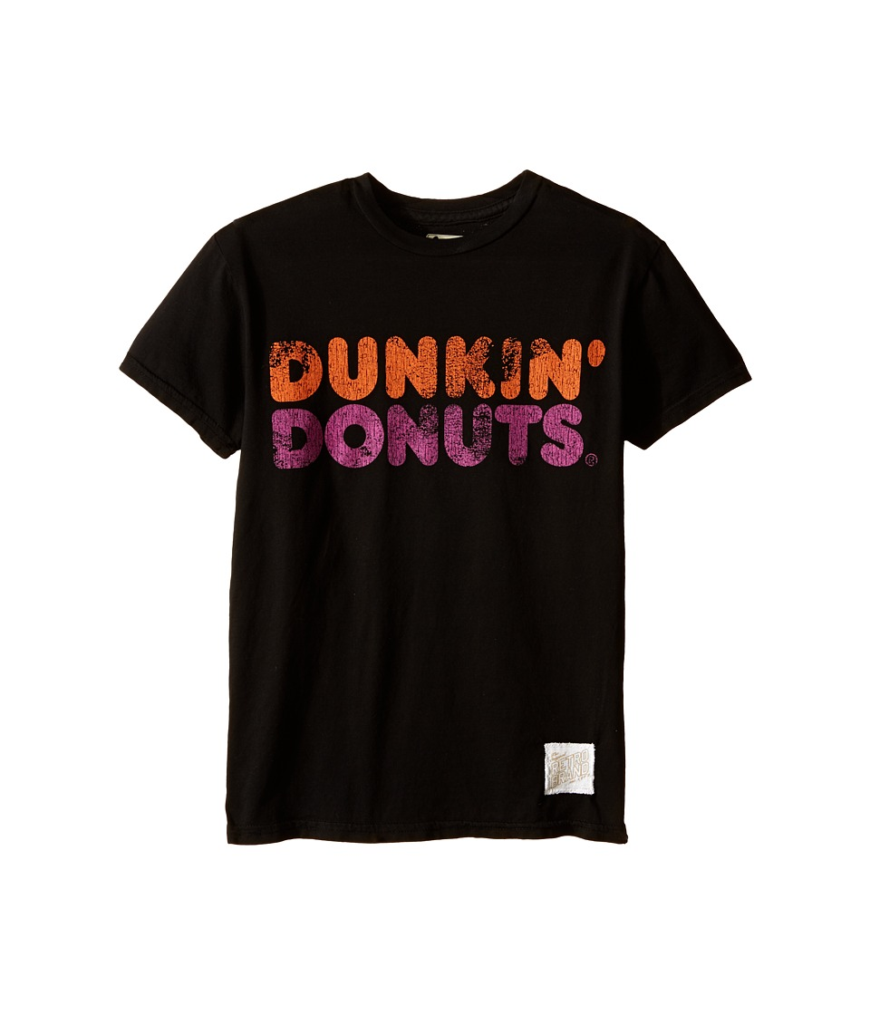 The Original Retro Brand Kids - Vintage Cotton Dunkin Donuts Short Sleeve Tee