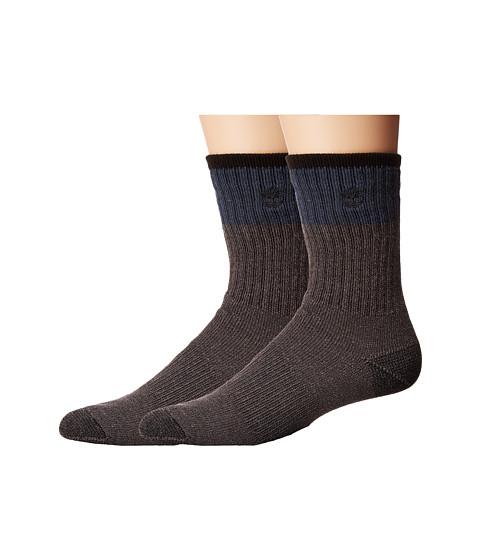 Timberland Wool Crew 2-Pack Socks - Vintage Indigo/Port