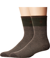 Timberland - Wool Crew 2-Pack Socks