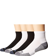 Timberland - Comfort 4-Pack Quarter Socks
