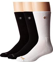 Timberland - Classic 3-Pack Boot Crew Socks