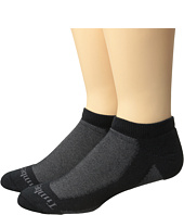 Timberland - Coolmax Fabric 2-Pack No Show Socks
