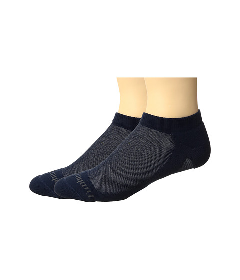 Timberland Coolmax Fabric 2-Pack No Show Socks - Navy