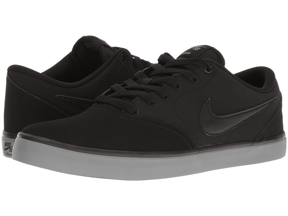 Nike SB Check Solar NB (Black/Black/Cool Grey) Men
