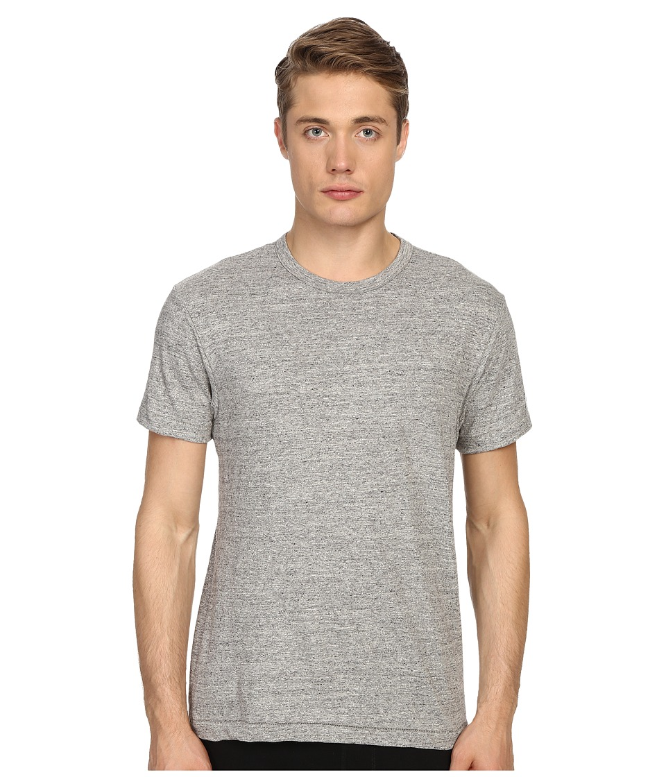 Todd Snyder Champion Heathered Basic Tee Antique Grey Mix Mens T Shirt